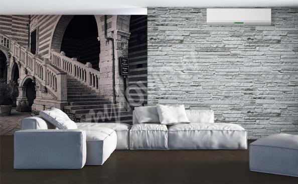 Fototapete Treppe fur Wohnzimmer