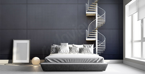 fototapeten treppen gr e der wand. Black Bedroom Furniture Sets. Home Design Ideas