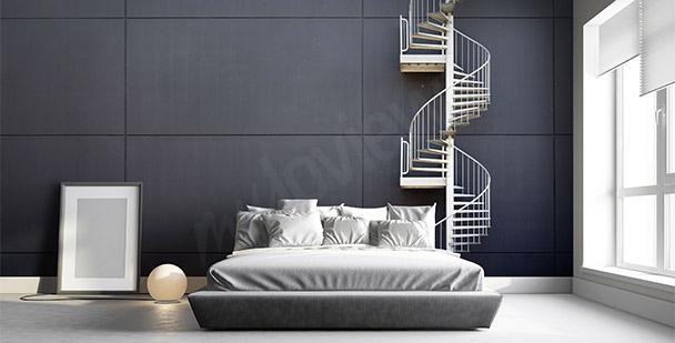 Fototapete Treppe fürs Schlafzimmer