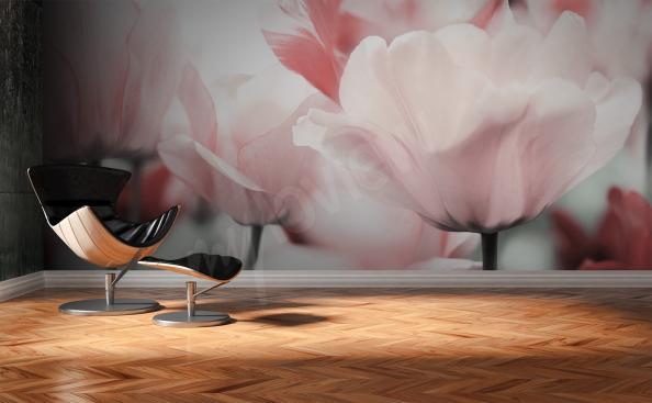 Fototapete Tulpen fur Wohnzimmer