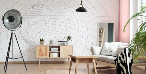 Fototapete Tunnel – Netz