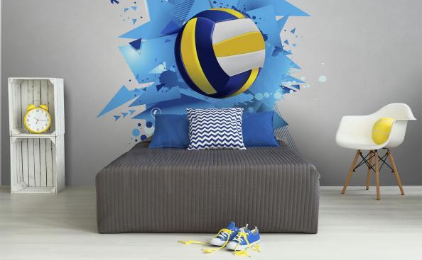 Fototapete Volleyball für einen Teenager