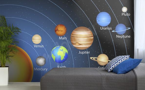 Fototapete Weltall Planeten