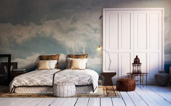 Fototapete Wolken für Schlafzimmer