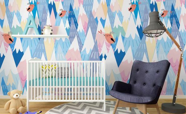 Fototapeten Pastell für Kinderzimmer