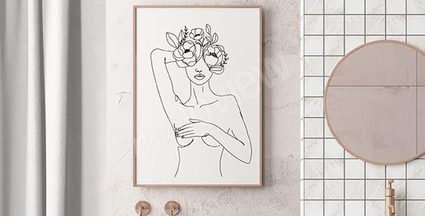 Poster fürs Badezimmer: Schiff