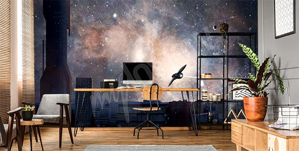 Galaktische Fototapete Weltraum