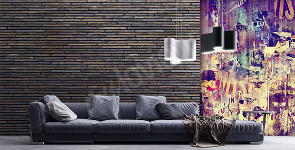 fototapeten graffiti gr e der wand. Black Bedroom Furniture Sets. Home Design Ideas