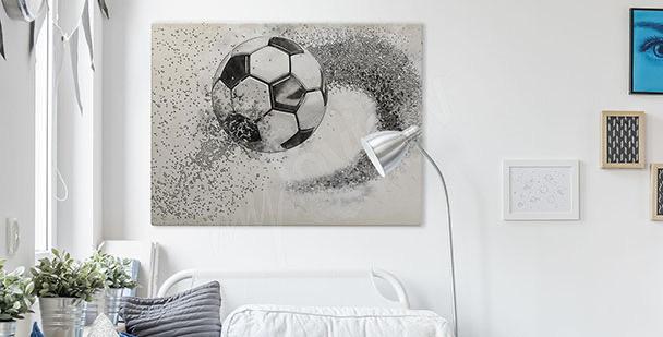 Grafisches Bild mit Ball