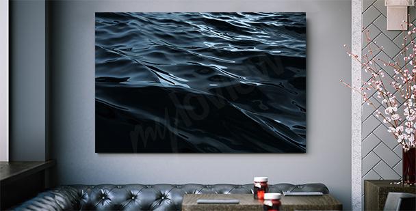 Grafisches Bild mit Meer