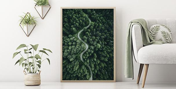 Grünes Poster Natur
