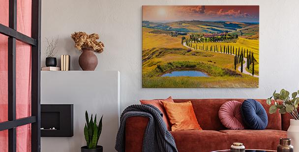 Herbstbild Toskana