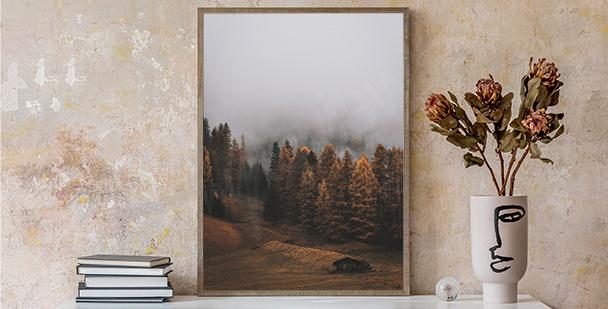 Poster minimalistische Natur