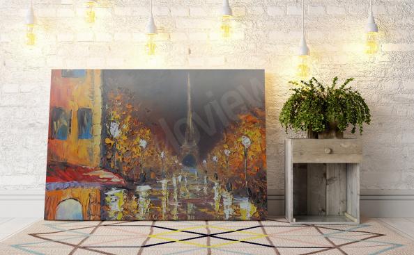 impressionistisches Bild mit Paris
