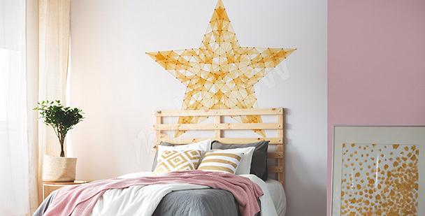 Jugendsticker mit Stern