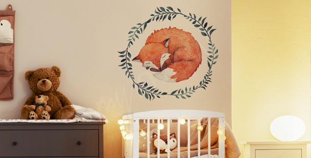 Sticker goldener Stern fürs Schlafzimmer