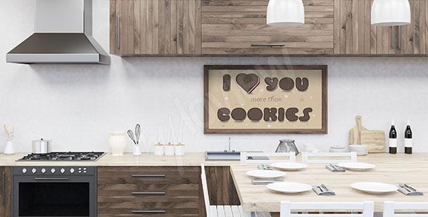Küchenposter Plätzchen
