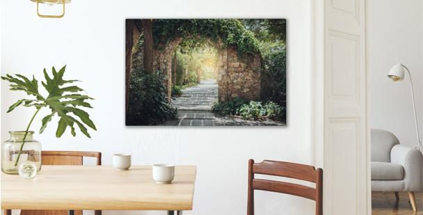 Malerisches Bild Park