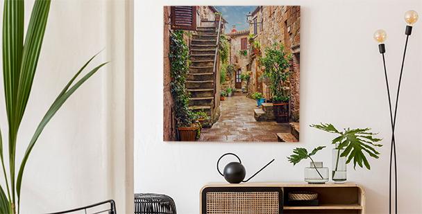 Malerisches Bild Toskana