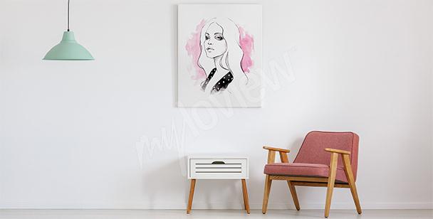 Minimalistisches Bild fürs Wohnzimmer