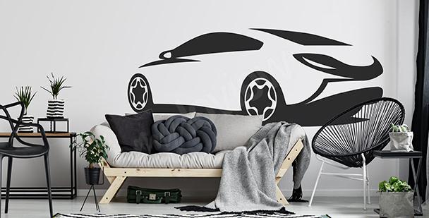 Moderner Sticker fürs Wohnzimmer