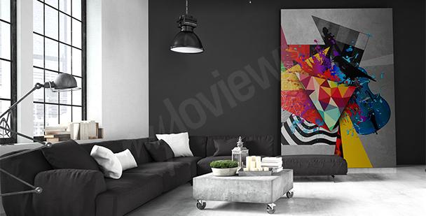 Modernes abstraktes Bild