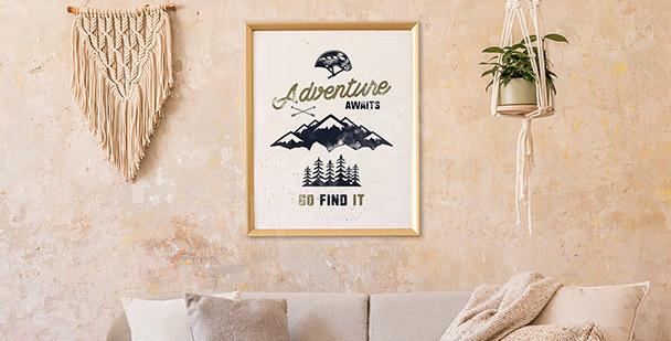 Poster Berggipfel