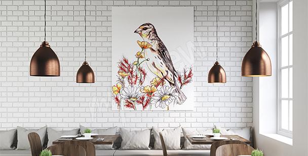 Naturbild fürs Esszimmer