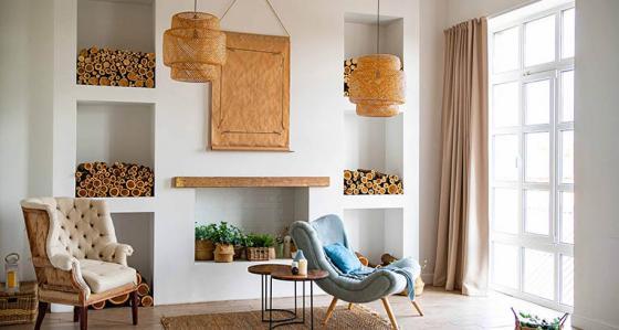 Eine Nische im Wohnzimmer? Dank der Arrangements von Myloview werden Sie sie lieben!