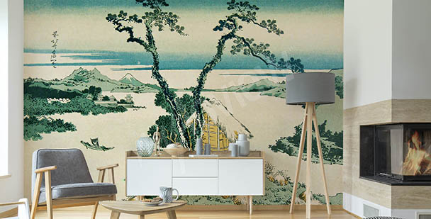 Orientalische Fototapete Asien