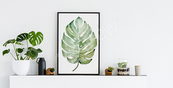 Pastell-Poster Aquarell