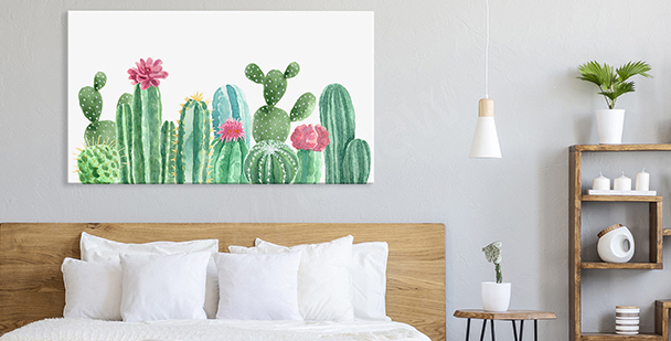 Pastellmalerei floraler Stil