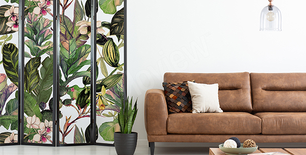 Pflanzensticker fürs Wohnzimmer