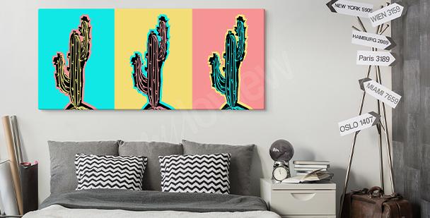 Pop-Art-Bild fürs Wohnzimmer