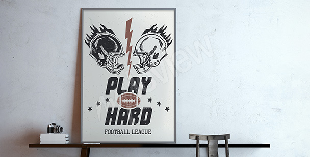 Poster American Football