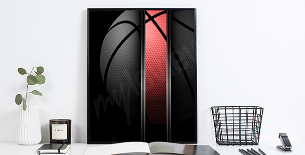 Poster Basketball für Sportler