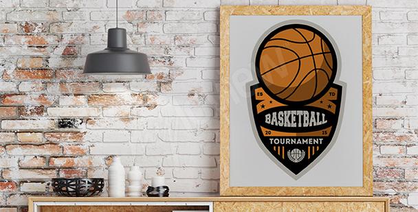 Poster Basketball-Meisterschaften