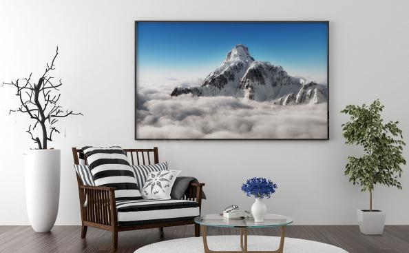 Poster Berge über den Wolken