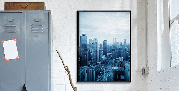 Poster Blick auf Montreal