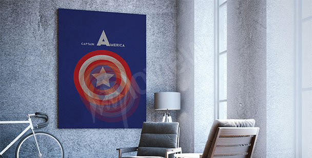 Poster Captain of America