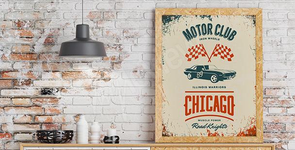 Poster Chicago Autoclub