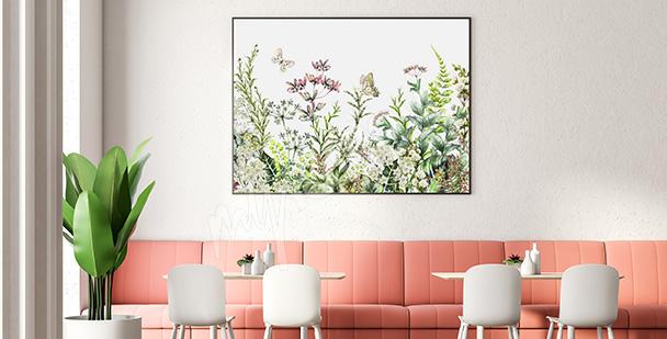 Poster Feldpflanzen
