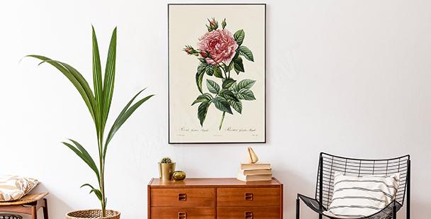 Poster floraler Stil
