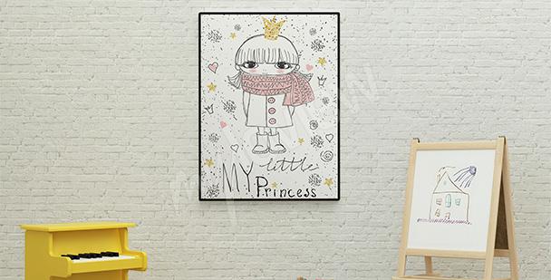 Poster für ein Mädchen