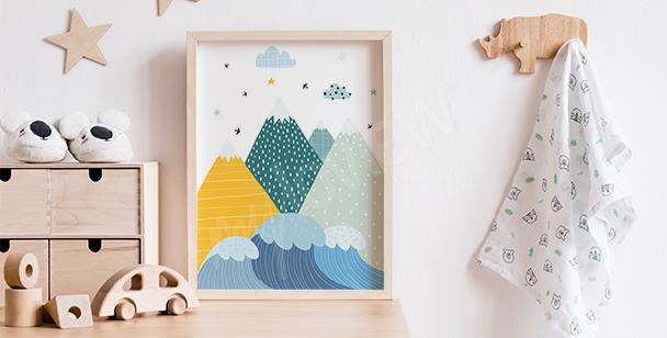 Poster fürs Jungenzimmer und Berge