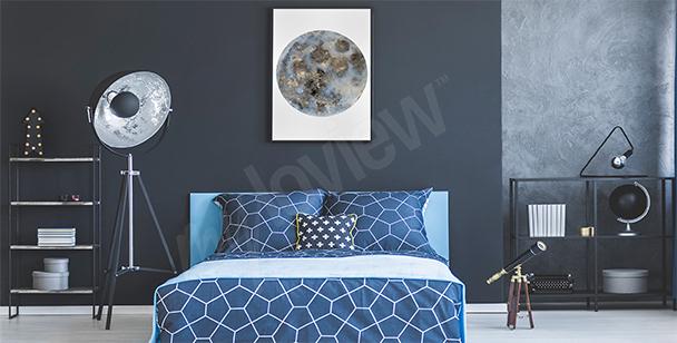 Poster Eulen fürs Schlafzimmer