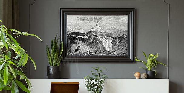 Poster Bergfluss