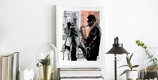 Poster Jazz in New York City
