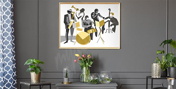 Poster Jazzmusiker