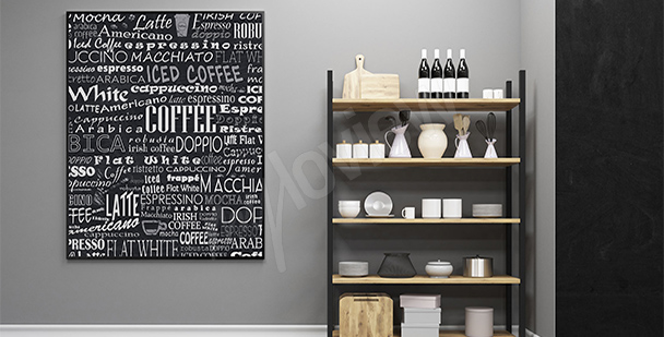 Poster Kaffeesorten